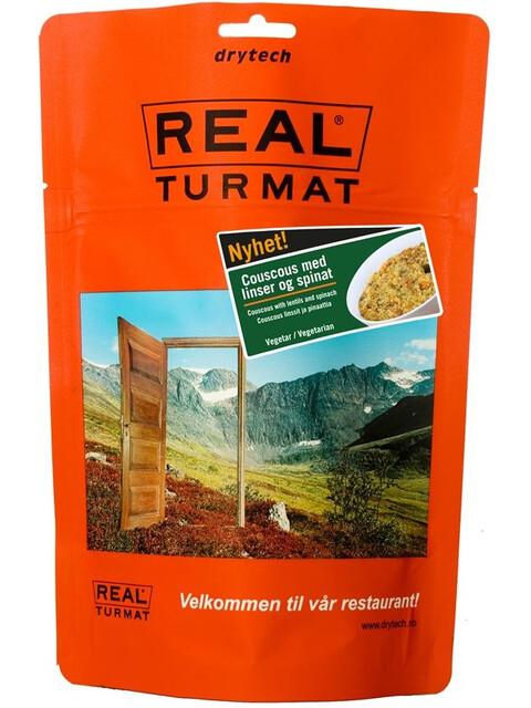 Real Turmat Couscous med linser och spenat 500g